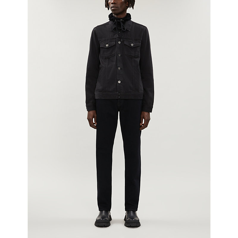 Paige Jackets SCOUT HOODED COTTON-BLEND JACKET