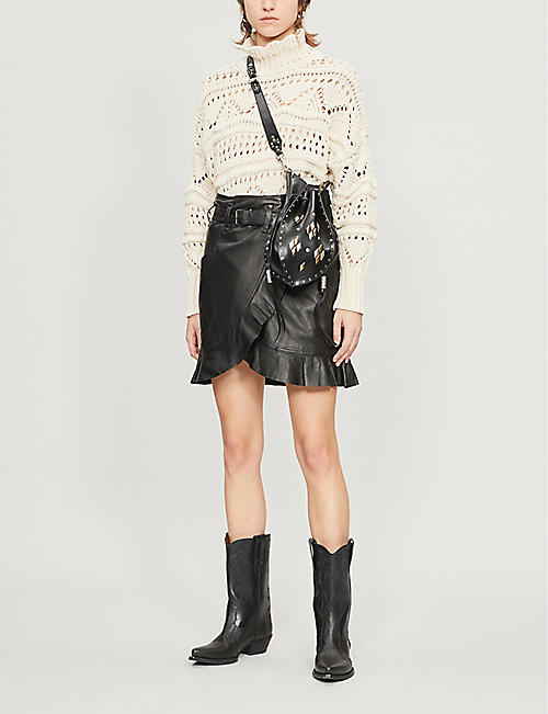 ISABEL MARANT ETOILE Naka high-neck cotton-knit jumper
