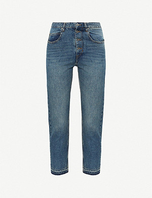 ISABEL MARANT ETOILE Garance tapered high-rise jeans