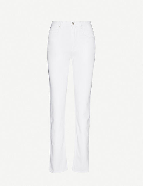 ISABEL MARANT ETOILE Dilia straight-leg high-rise jeans