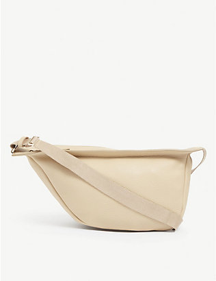 THE ROW: Slouchy leather banana bag