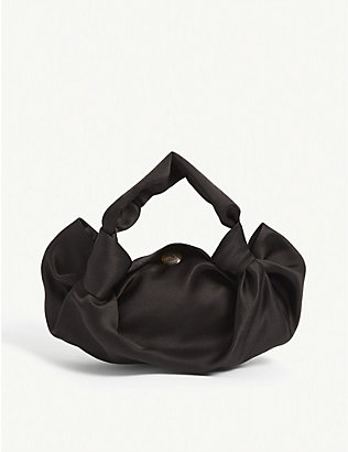 THE ROW: Tr Ascot Satin Bag Small