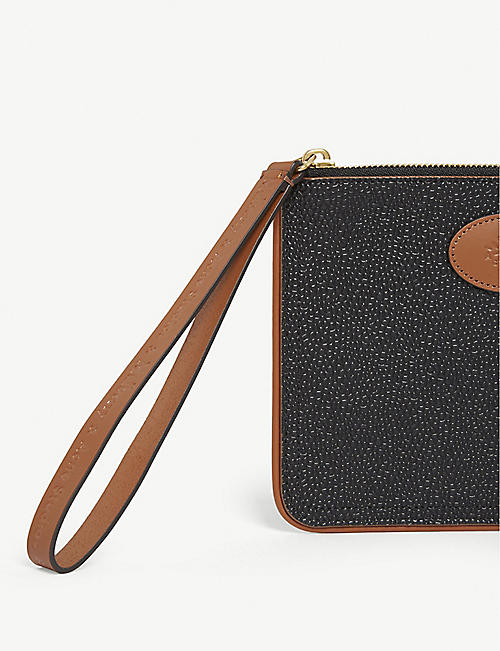 MULBERRY Mulberry x Acne Studios leather zip coin purse
