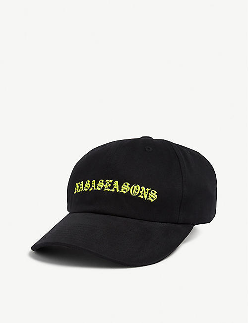 NASASEASONS Fluorescent logo baseball cap
