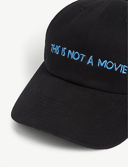 NASASEASONS This Is Not A Movie cotton baseball cap