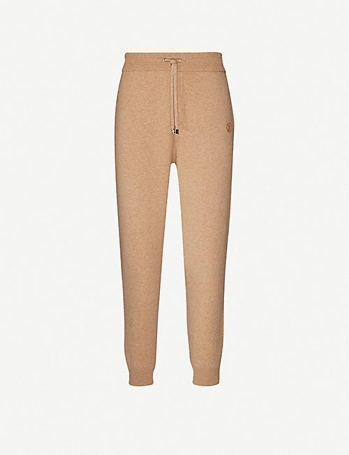 BURBERRY Huntley cashmere-blend jogging bottoms
