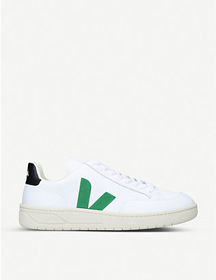 VEJA: V-12 leather trainers