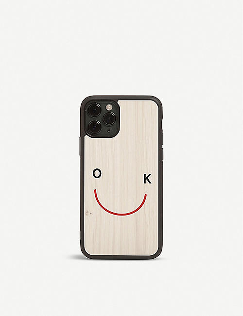 THE CONRAN SHOP OK wooden iPhone 11 Pro case