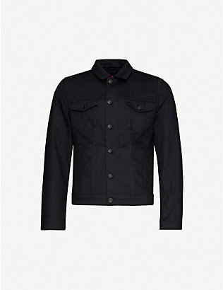 HUGO: Relaxed-fit denim jacket