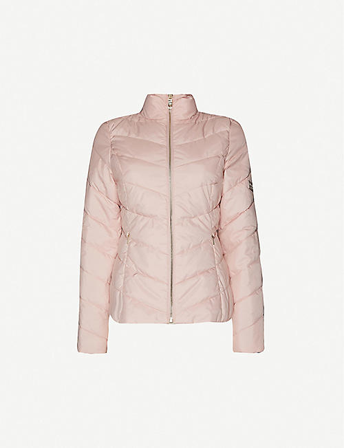 TED BAKER: Renika packaway padded shell jacket
