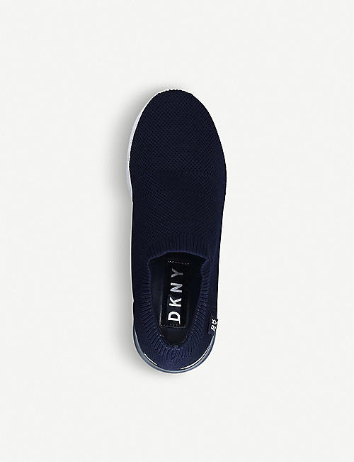 DKNY Penn low-top knitted sock trainers