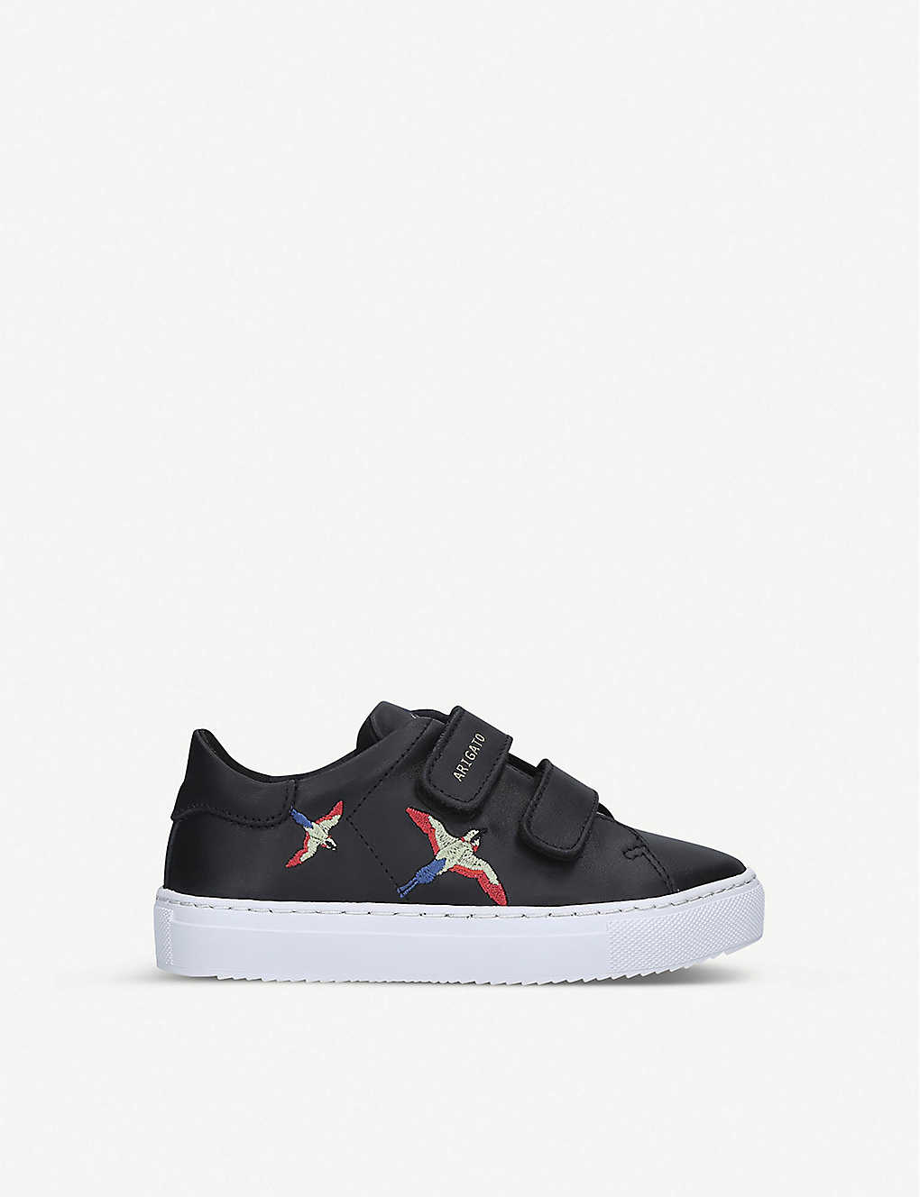 AXEL ARIGATO: Clean 90 bird-embroidered leather trainers 7-12 years