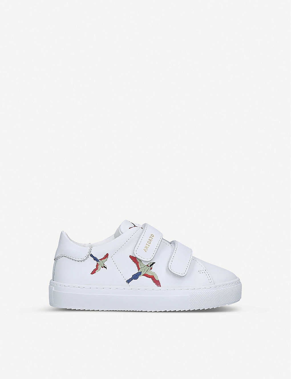 AXEL ARIGATO: Clean 90 bird-embroidered leather trainers 3-8 years