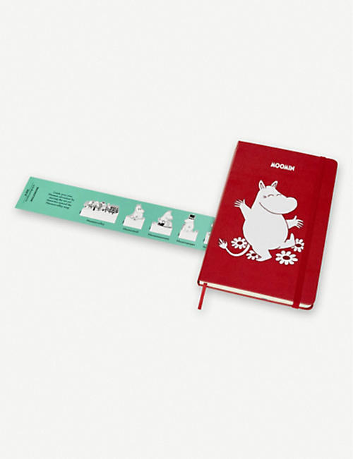 MOLESKINE Limited Edition Moomin ruled notebook 13cm x 21cm