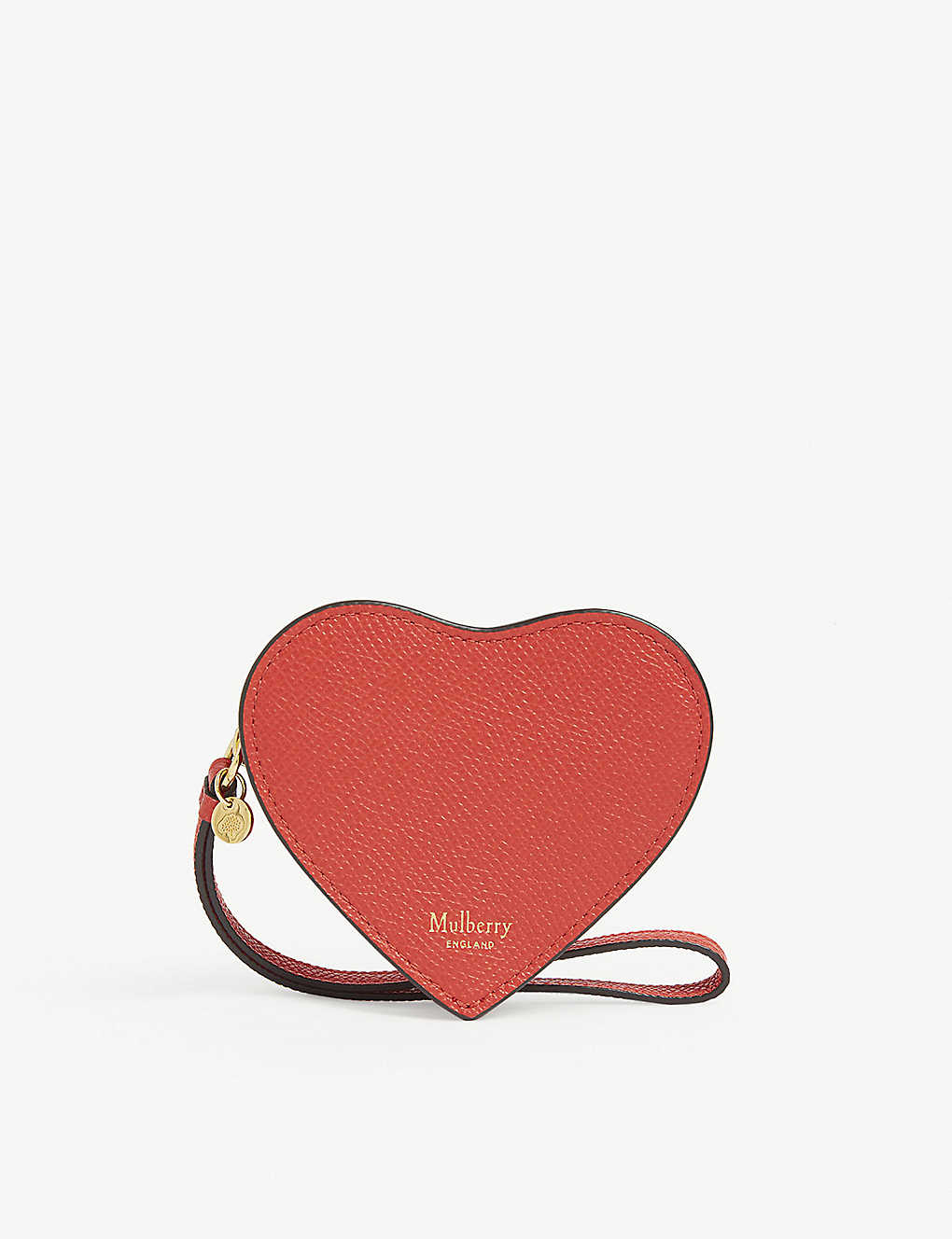 MULBERRY: Heart leather coin purse