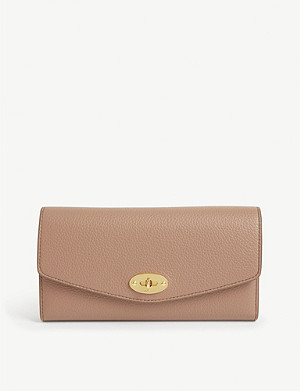 MULBERRY Darley grain leather wallet