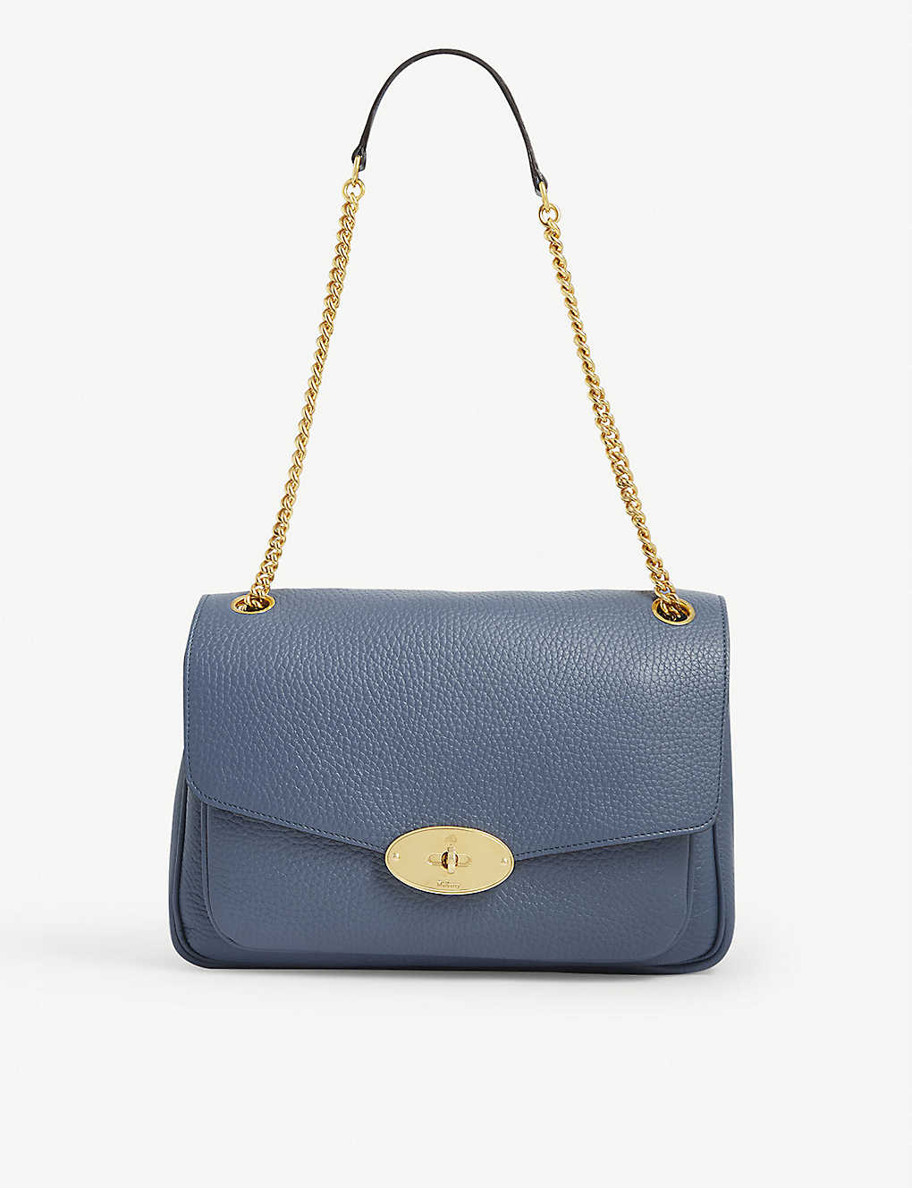 MULBERRY: Darley small leather shoulder bag