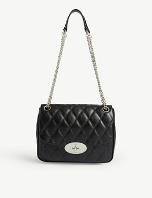 MULBERRY Darley small quilted leather shoulder bag