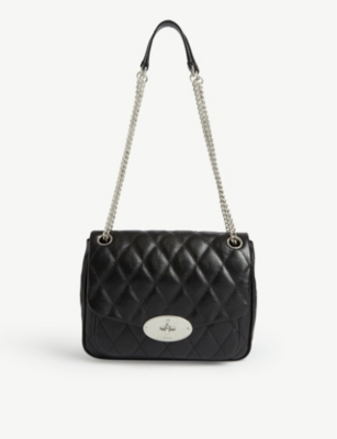 Darley Small Quilted Leather Shoulder Bag by Mulberry