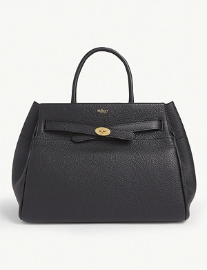 MULBERRY Belted Bayswater leather tote