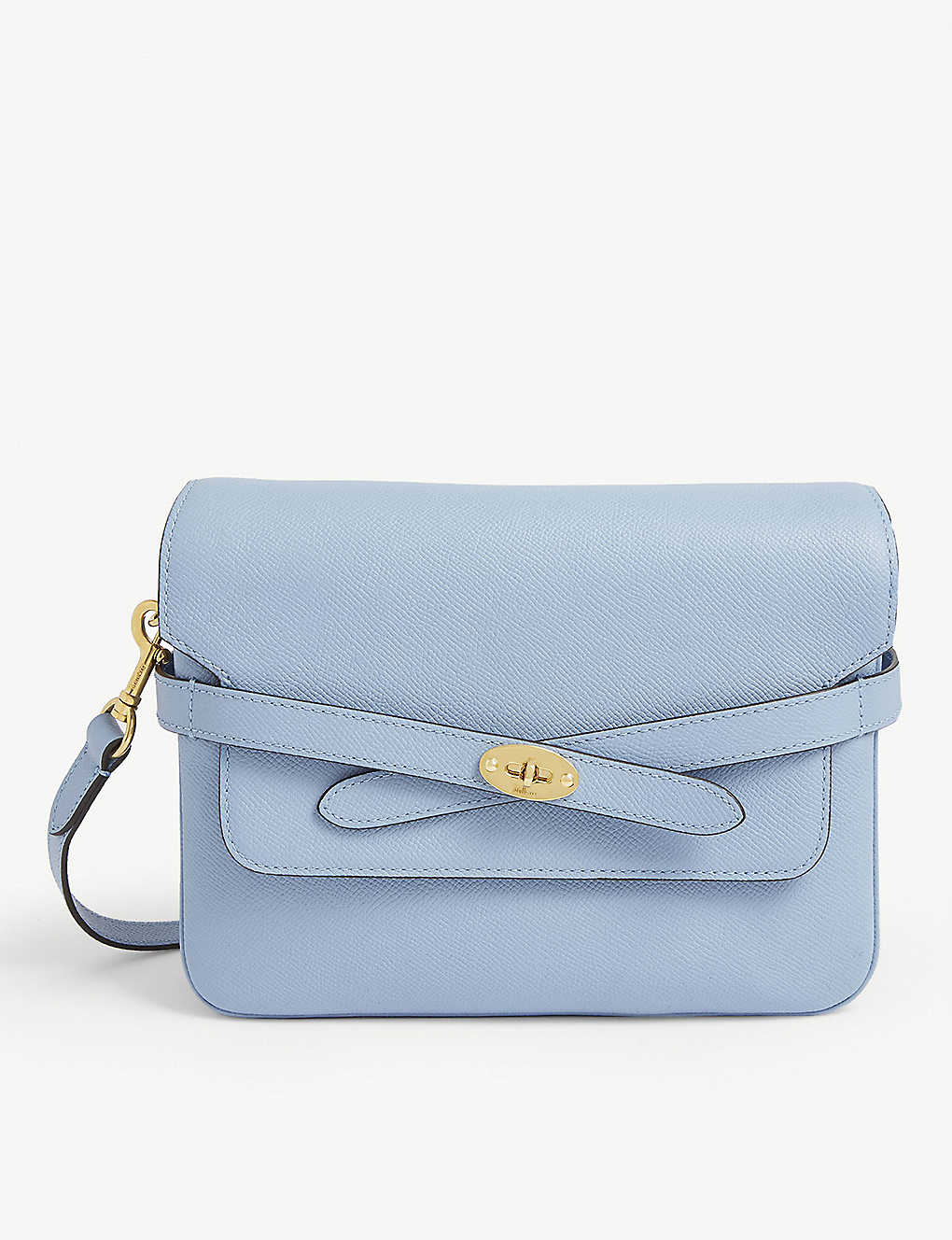 MULBERRY: Belted Bayswater leather satchel