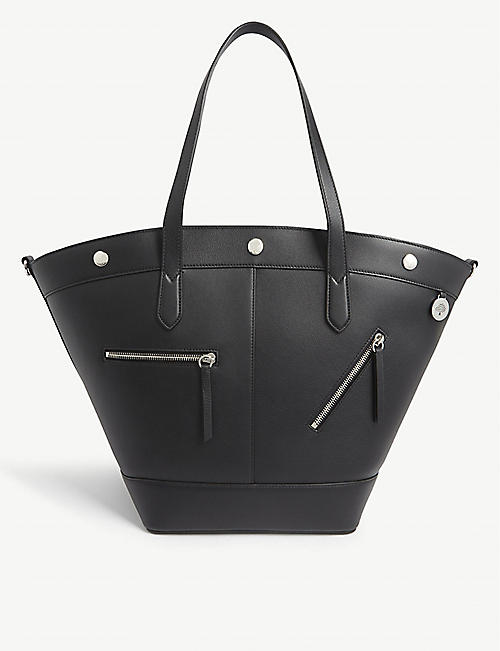 MULBERRY Camden studded leather shopper