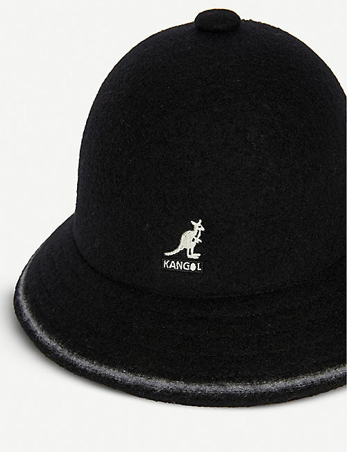 KANGOL Casual stripe bucket hat
