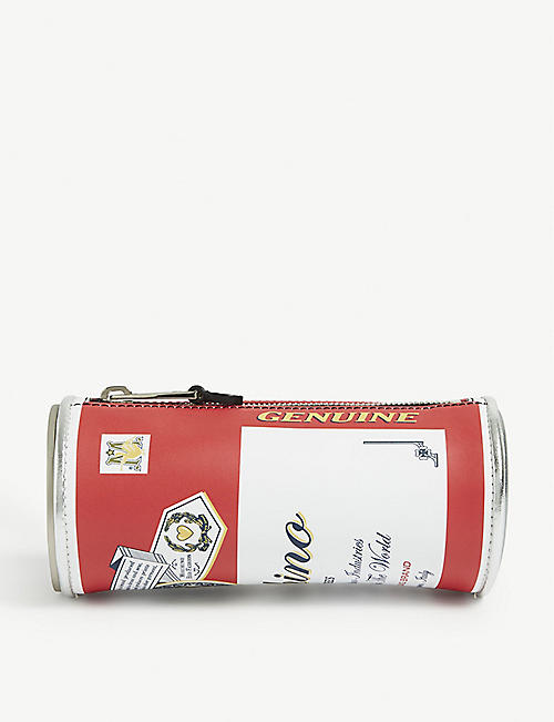 MOSCHINO Budweiser clutch bag