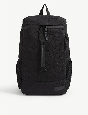 EASTPAK Etched nylon backpack