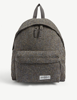 EASTPAK Pak'r x Harris Tweed herringbone backpack