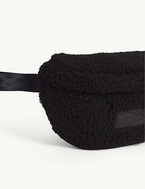 EASTPAK Springer shearling-trimmed belt bag