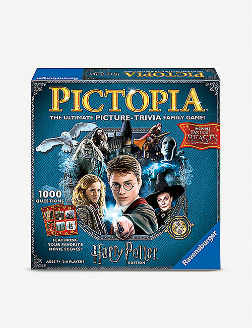BOARD GAMES Ravensburger Pictopia Harry Potter trivia game