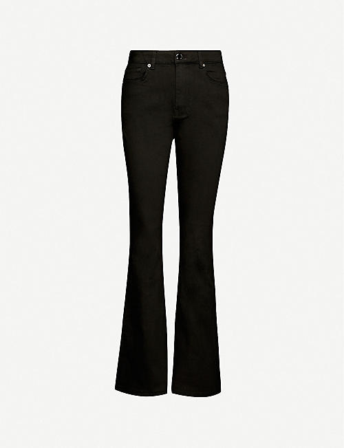 TED BAKER: Umali flared stretch-denim jeans