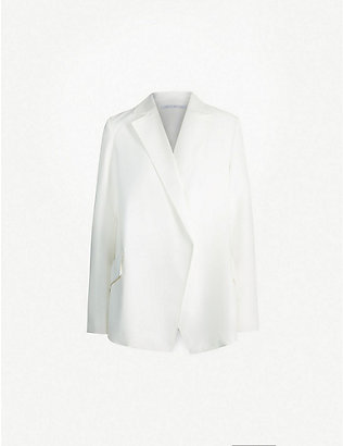 CAMILLA AND MARC: Gransasso woven single-buttoned blazer