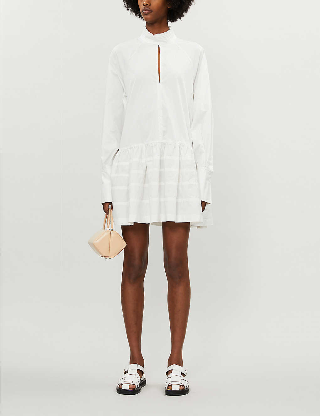 CAMILLA AND MARC: Zeta woven mini dress