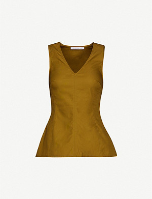 CAMILLA AND MARC Benson cotton-canvas top