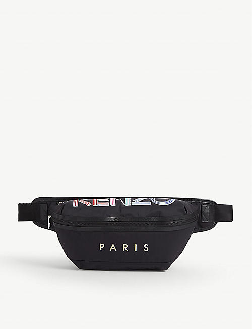 KENZO: Banana nylon belt bag