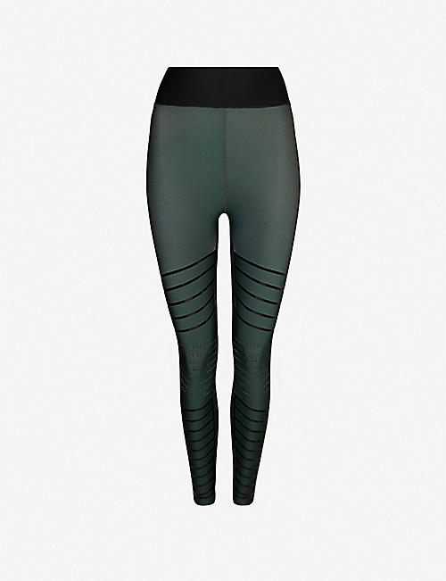 ULTRACOR: Moto high-rise stretch leggings
