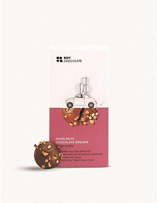 CHOCOLATE: Hazel Milk Chocolate Dreams 100g