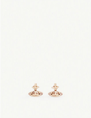 VIVIENNE WESTWOOD JEWELLERY: Pina bas relief earrings