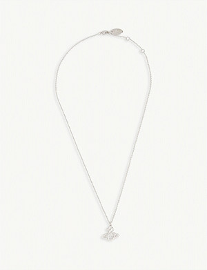 VIVIENNE WESTWOOD JEWELLERY Valentina crystal orb necklace