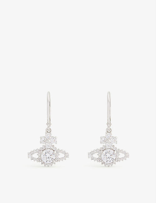 VIVIENNE WESTWOOD JEWELLERY Valentina Orb drop earrings