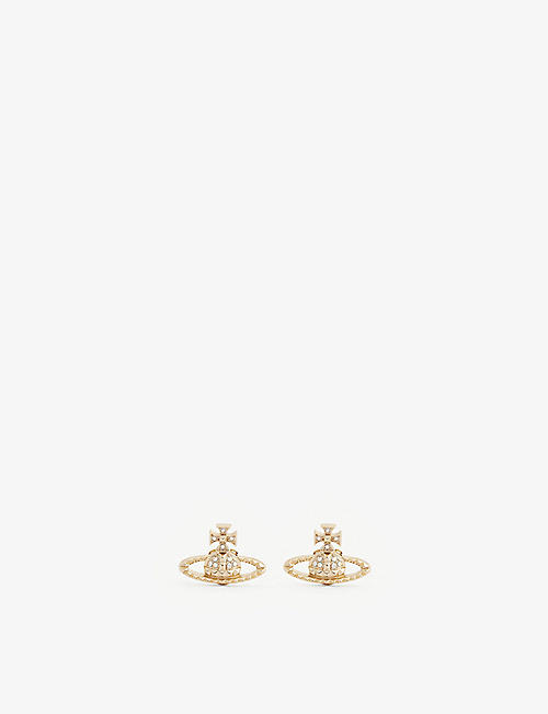 VIVIENNE WESTWOOD JEWELLERY Mayfair bas relief orb earrings