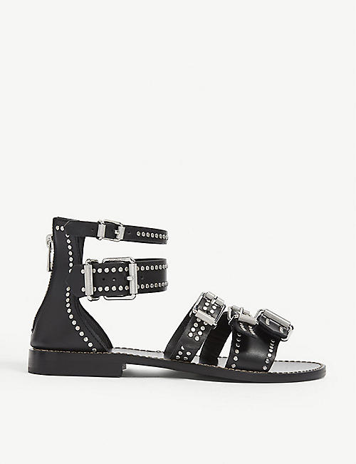 ZADIG&VOLTAIRE: Ever buckled leather sandals
