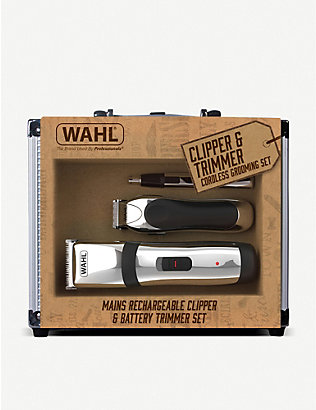 WAHL: Clipper and trimmer cordless grooming set