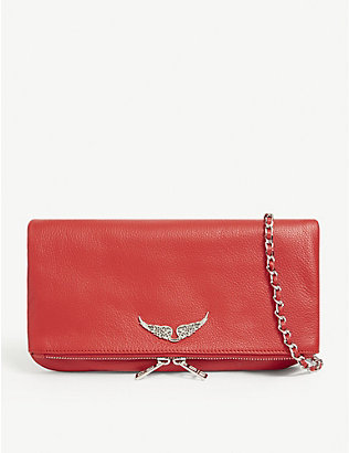 ZADIG&VOLTAIRE: Rock leather clutch