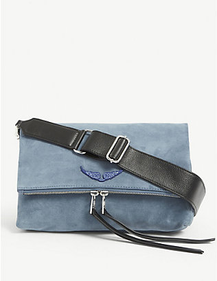 ZADIG&VOLTAIRE: Rocky suede shoulder bag