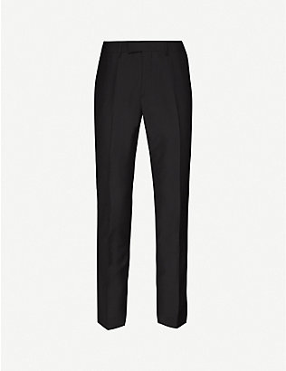 TIGER OF SWEDEN: Slim-fit wool trousers