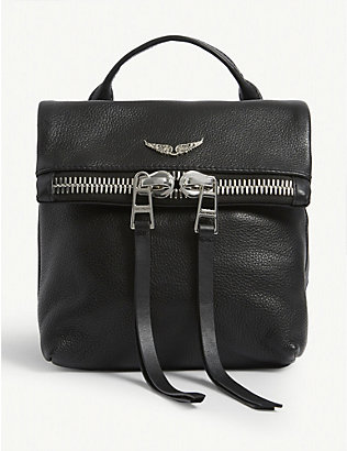 ZADIG&VOLTAIRE: Romy mini leather backpack