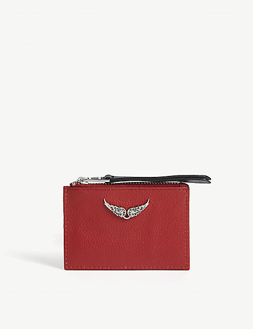 ZADIG&VOLTAIRE: Zv Pass leather card holder